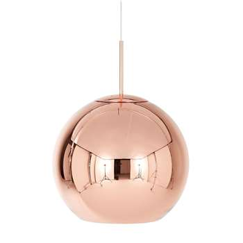 Tom Dixon - Copper Round Pendant Lamp (40 x 45cm)