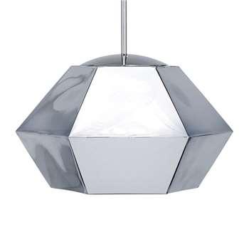 Tom Dixon - Cut Pendant Light - Chrome - Short (31 x 44cm)