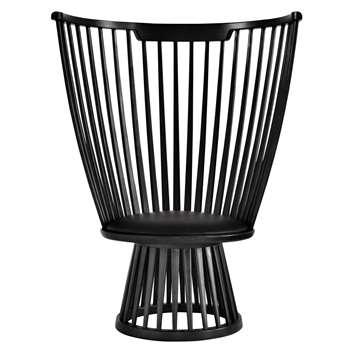 Tom Dixon Fan Chair, Black