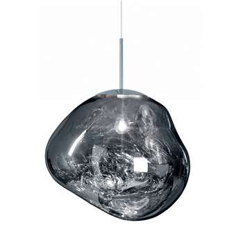 Tom Dixon - Melt Chrome Pendant Light - Big (H50 x W50cm)