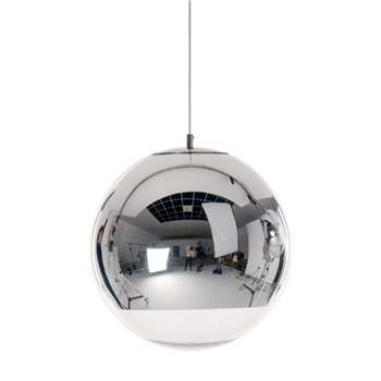 Tom Dixon - Mirror Ball Chrome Pendant Lamp (H40 x W40 x D40cm)