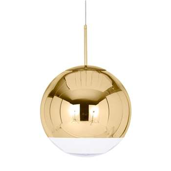 Tom Dixon - Mirror Ball Gold Pendant (H40 x W40 x D40cm)