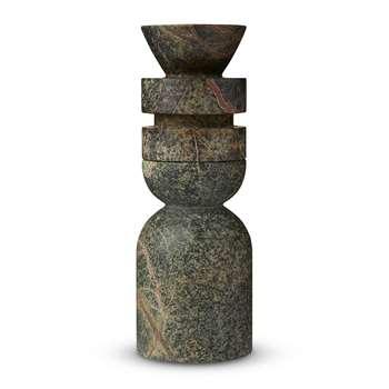 Tom Dixon - Rock Stacking Candle Holder - Medium - Set of 2 (H36 x W12 x D12cm)