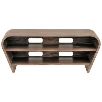 "Tom Schneider Taper 1050 TV Stand for TVs up to 45"", Natural Walnut (H45 x W113 x D51cm)"