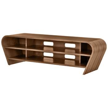 "Tom Schneider Taper 1400 TV Stand for TVs up to 60"", Natural Walnut (H45 x W148 x D51cm)"