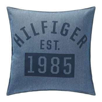 Tommy Hilfiger - 1985 Cushion - Denim (H40 x W40cm)