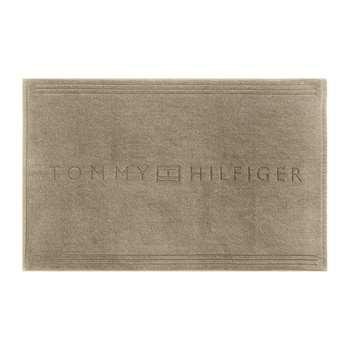Tommy Hilfiger - Plain Bath Mat - Camel (H50 x W80cm)