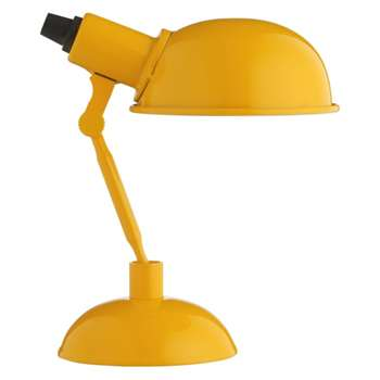Tommy Yellow Metal Desk Lamp