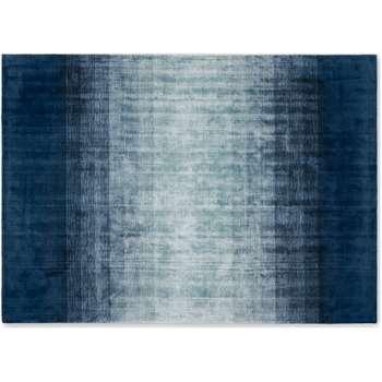 Tonos Graded Viscose Rug Large. Midnight Blue (H160 x W230cm)