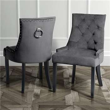 Torino Dining Chair with Back Ring - Smoke (91.5 x 57cm)