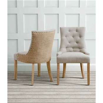 Torino Rustic Scoop Back Dining chair (91.5 x 53cm)
