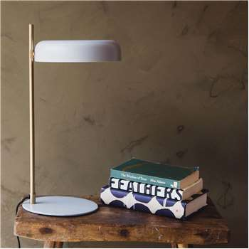 Torsten Grey Table Lamp (H47 x W23 x D23cm)