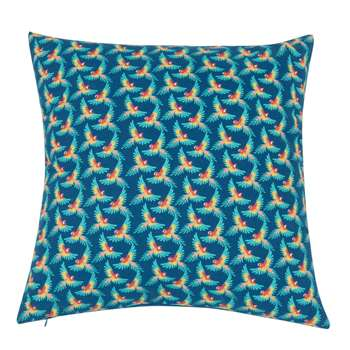 TOUI - Cotton Cushion Cover with Parrot Print (H40 x W40cm)