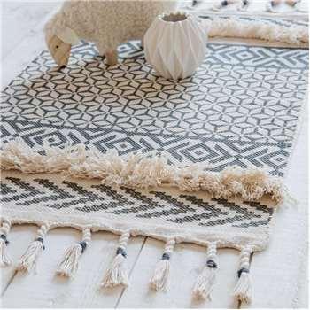 TRAPANI cotton rug (50 x 80cm)