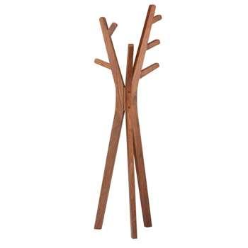 Tree coat stand walnut (167 x 44cm)