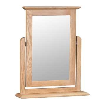 Trento Oak Trinket Mirror (H60 x W50 x D12cm)