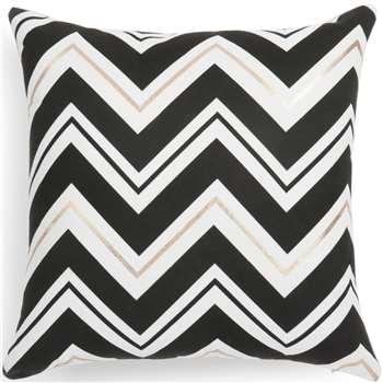 TRIBECA black/white cushion cover (40 x 40cm)