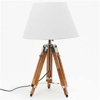 Tripod Lamp Small - Natural (H85 x W35 x D35cm)