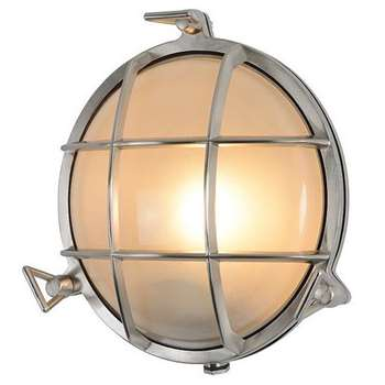 Tristan Circular Cage Wall Light (23 x 23cm)
