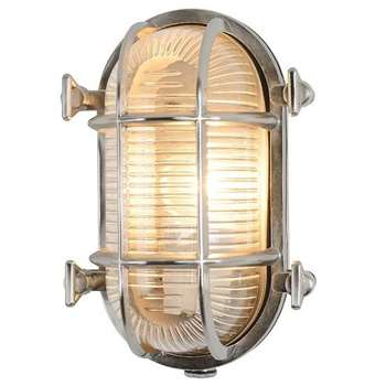 Tristan Oval Cage Wall Light (21 x 14cm)