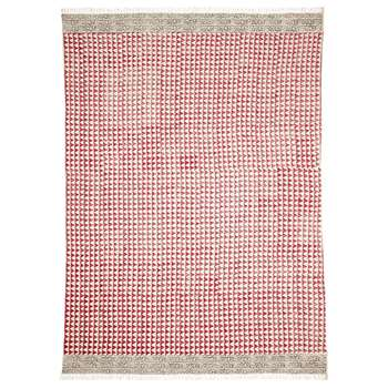 Trivandrum Rug - Red/White (240 x 310cm)