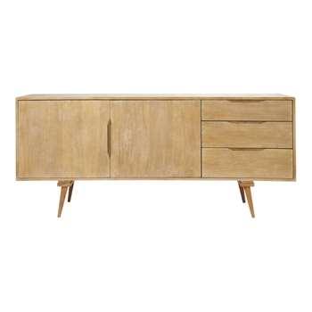 TROCADERO - Mango Wood Vintage Long Sideboard (H70 x W167 x D45cm)