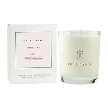 True Grace - Village Classic Candle - White Tea - 190g (H9 x W7.5 x D7.5cm)