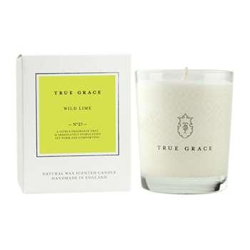 True Grace - Village Classic Candle - Wild Lime - 190g (H9 x W7.5 x D7.5cm)