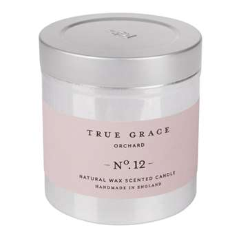 True Grace - Walled Garden Candle in Tin - Orchard - 250g (H8 x W7.5 x D7.5cm)
