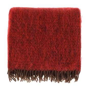 Tudela Mohair Blanket, Red (130 x 180cm)