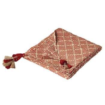 Tuli Throw - Paprika (H140 x W200cm)
