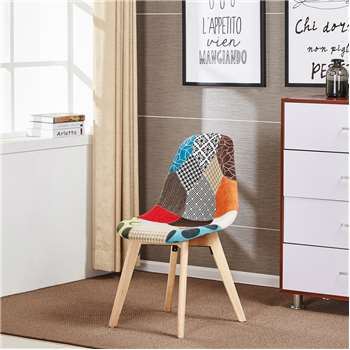 Tulip Patchwork Chair (83 x 47cm)