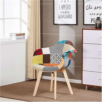 Tulip Patchwork Tub Chair (83 x 63cm)