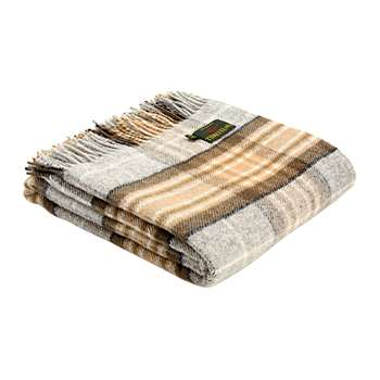 Tweedmill - Pure New Wool Tartan Throw - McKellar (H150 x W183cm)