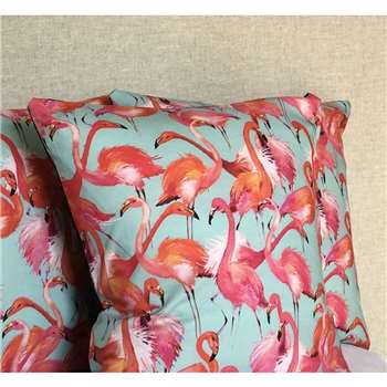 Twentysevenpalms - Pink Flamingo Cushion Cover (H45 x W45cm)