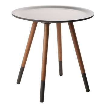 Zuiver Two Tone Side Table in Grey (47.5 x 48cm)