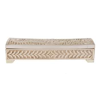 Udaipur Cut Bone Box (7 x 30cm)