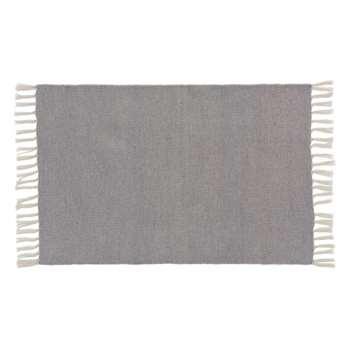 Udaka Outdoor Doormat, Silver Grey (H60 x W90cm)