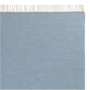 Udaka Outdoor Rug, Ice Blue (H90 x W130cm)