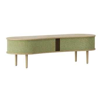 UMAGE - Audacious TV Bench - Spring Green (H40 x W140 x D46cm)