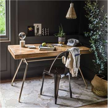 Umberto Writing Table (73 x 138cm)