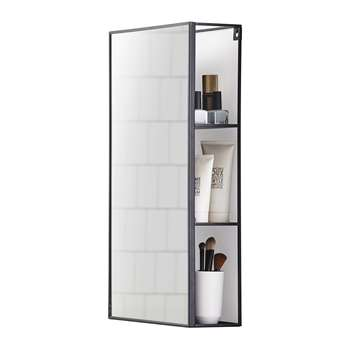 Umbra - Cubiko Mirror and Storage Unit (H60.9 x W30.5 x D12.9cm)