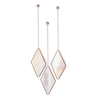 Umbra Dima Mirror Set - Copper