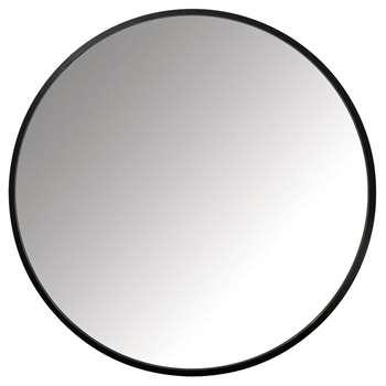 Umbra - Hub Round Mirror - Black (H61 x W61cm)