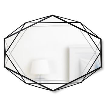 Umbra Prisma Mirror - Black (H42.5 x W56.5 x D8.3cm)
