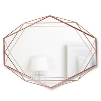 Umbra Prisma Mirror - Copper (H42.5 x W56.5 x D8.3cm)