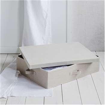 Underbed Storage Drawer, Beige (15 x 64cm)