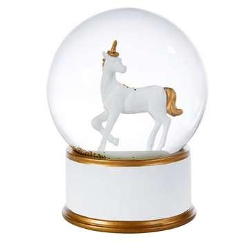 Unicorn Snow Globe (16 x 12cm)
