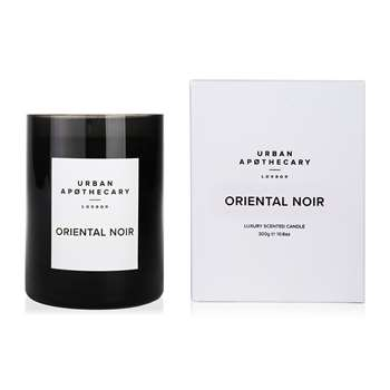 Urban Apothecary London - Luxury Scented Candle - Black Glass - Oriental Noir (10.5 x 9.3cm)
