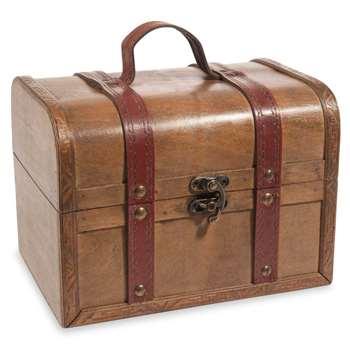 URBAN VINTAGE wooden chest (15 x 20cm)